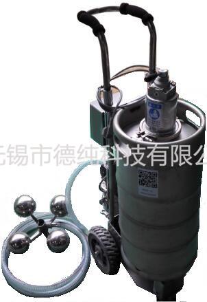 便携移动式自动浮油收集机(立式改款)
