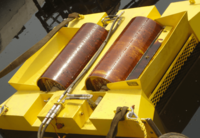 液压驱动滚筒式刮油机