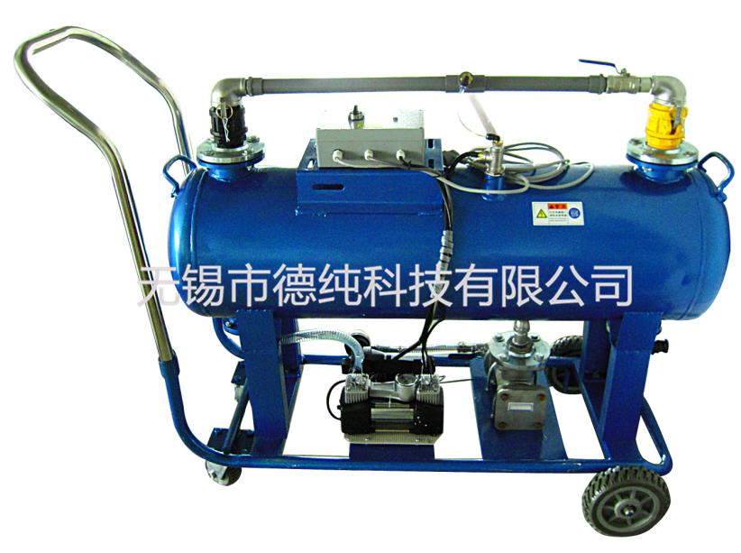 便携移动式自动浮油收集机(卧式)